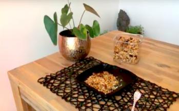 [RECETTE] Un granola maison pour un petit déj' aussi gourmand que croquant