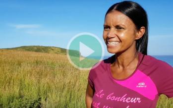 Chloé, la Saint-Pauloise qui partage le bonheur ressenti sur les sentiers