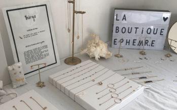 Sea, sun et fashion : Une boutique éphémère charmante ce weekend