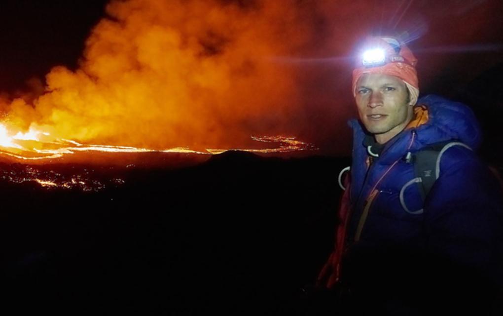 Ses images du volcan font le tour du monde