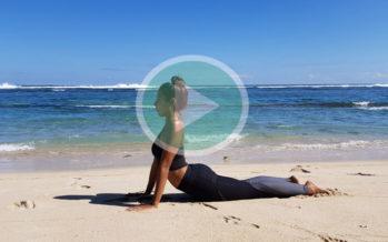 Journée internationale du yoga : Suivez ce mini-cours d'Angélique Carter !