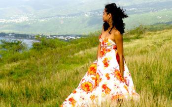 Pour ses créations, la blogueuse mode Amy K s'inspire des trésors de La Réunion