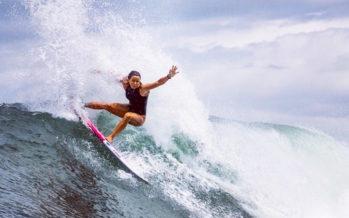 La surfeuse réunionnaise Johanne Defay décroche son ticket pour les JO de Tokyo