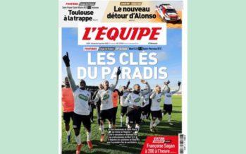 Football : La Saint-Pierroise fait la Une du journal l'Équipe