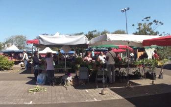 Le marché du Chaudron à nouveau sur la place Nelson Mandela