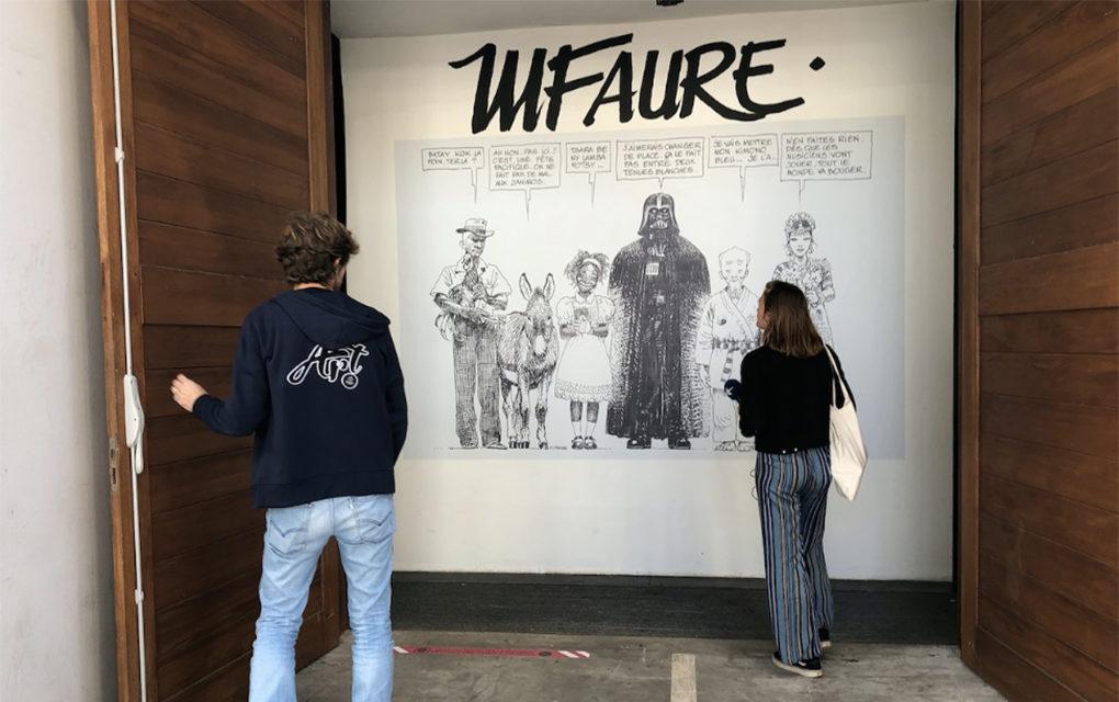 Les bandes dessinées de Michel Faure : Ses dessins exposés jusqu'au 8 août