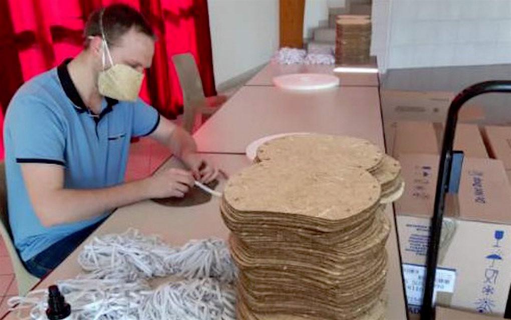Une entreprise française crée des masques biodégradables en fibres de chanvre