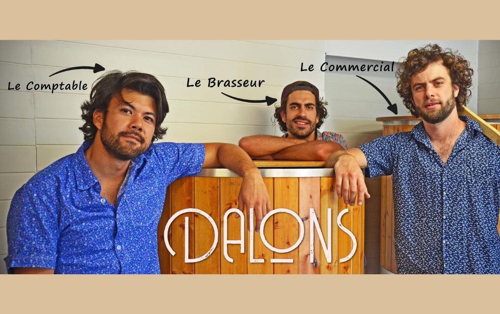 Les Dalons se lancent dans les bouteilles de bière réutilisables