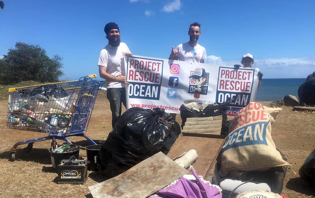 Ils débarrassent le littoral de Sainte-Marie de 200 kg de déchets