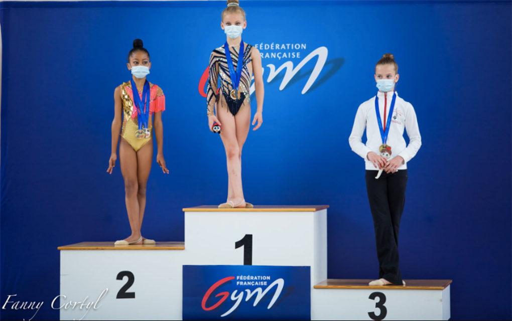 Mayline, la petite Réunionnaise vice-championne de France de gymnastique rythmique