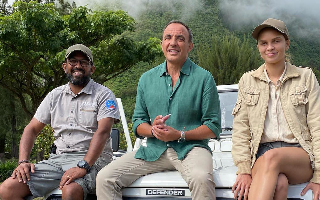 50'inside en tournage sur notre île : «Des reportages dingues», annonce Nikos Aliagas
