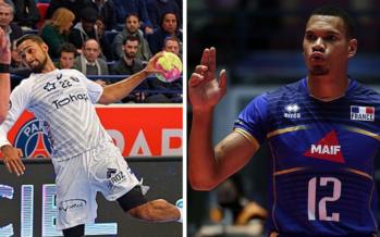 Volleyball et handball : L'or pour la France et nos deux Réunionnais