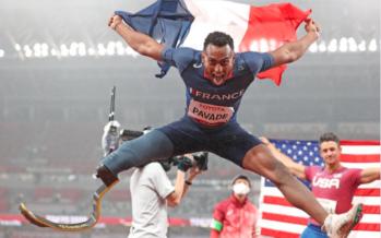 Jeux paralympiques : Sacré vice-champion, le Portois Dimitri Pavadé exprime sa joie