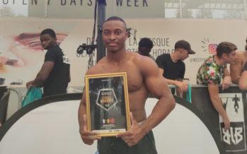 Street Workout : Le Portois Angelo Mérion vainqueur d'une compétition parisienne