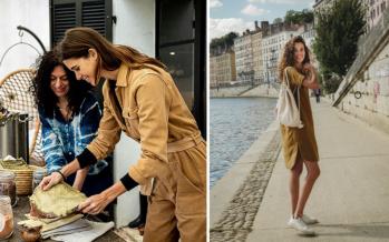 La mannequin péi Pauline Hoarau créé sa marque de sacs à dos bio